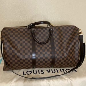 SOLD!! Authentic Louis Vuitton Keepall B 55